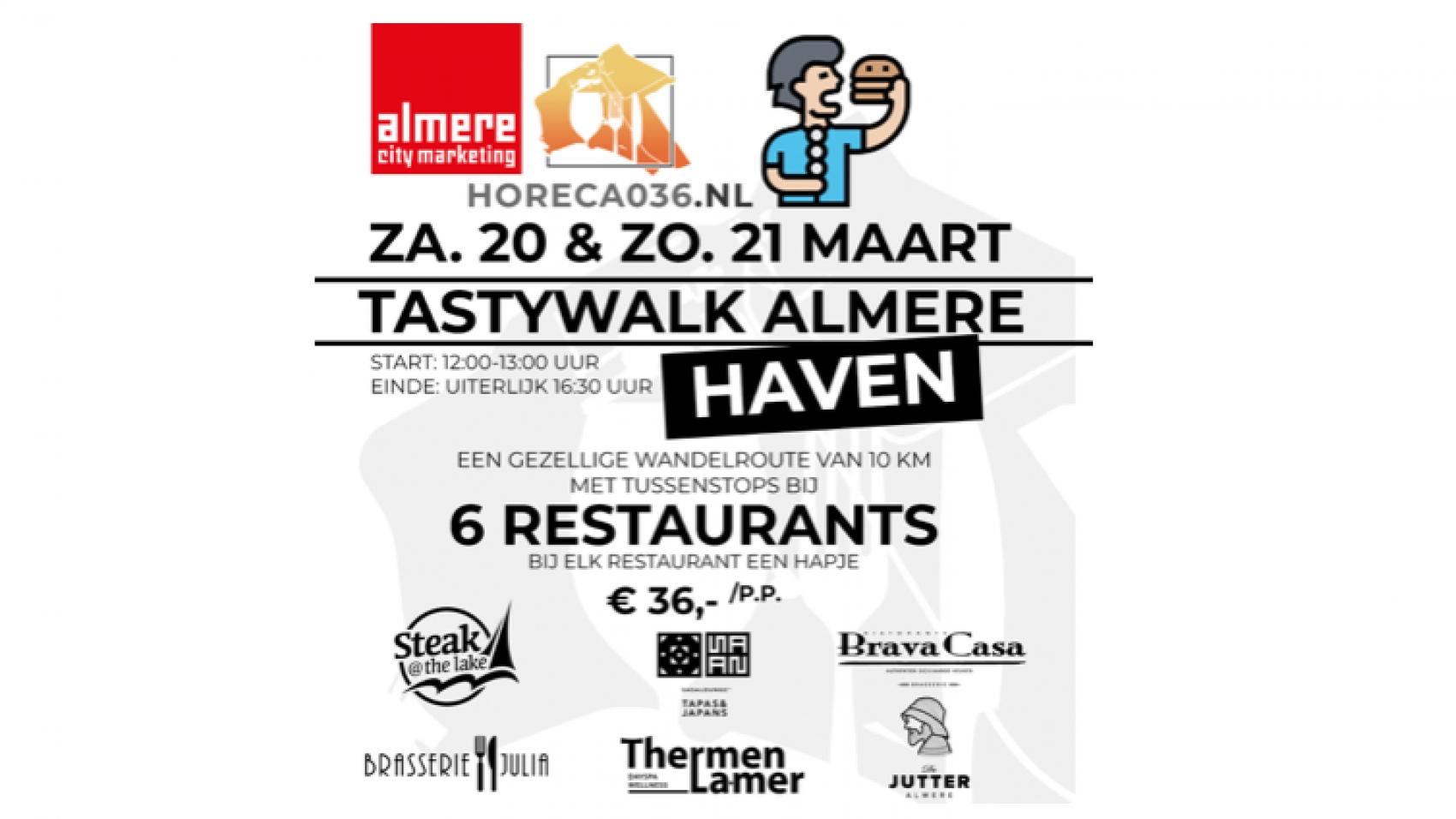 Tasty Walk Almere